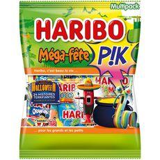 HARIBO Haribo Mega-fête Pik Halloween 16 mini sachets 720g 16 mini sachets 720g