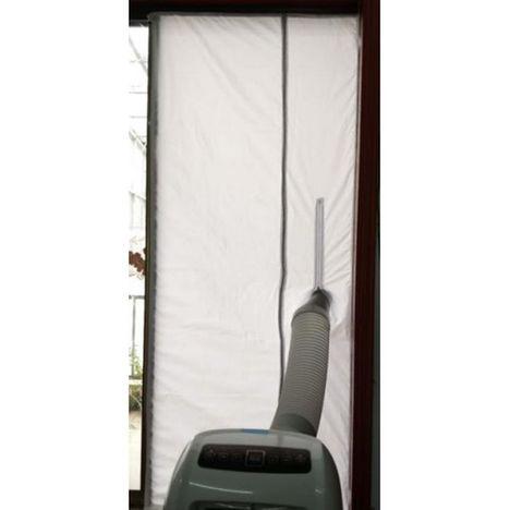SANEO Kit porte magnétique 002242 - Blanc