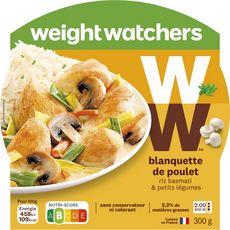 WEIGHT WATCHERS Weight Watchers Blanquette de poulet riz basmati petits légumes 300g 1 personne 300g