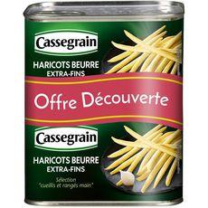 CASSEGRAIN Cassegrain Haricots beurre extra-fins cueillis et rangés main 2x220g 2x220g
