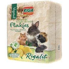 RIGA Riga litière copeaux de bois senteur citron 3,6kg