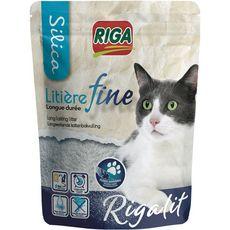 RIGA Riga Riga'lit litière silice fine et absorbante longue durée pour chat 4l 4l