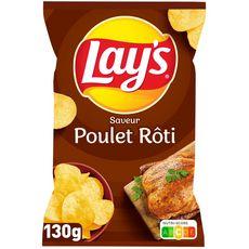 LAY'S Chips saveur poulet rôti 130g
