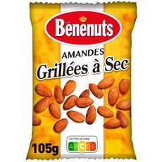 Bénénuts BENENUTS Amandes grillées à sec