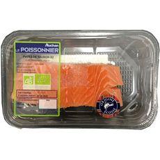 Pavés de saumon bio d'Ecosse 2 pavés 250g