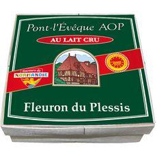 FLEURON DU PLESSIS Pont l'évêque AOP au lait cru 360g