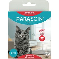PARASOIN Parasoin Collier antiparasitaire pour chat efficace 240 jours 1 pièce