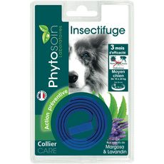 PHYTOSOIN Phytosoin collier insectifuge pour chien