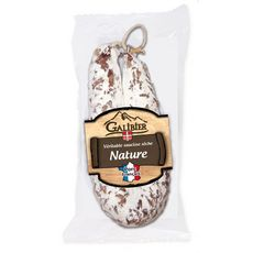 GALIBIER Saucisse sèche nature pur porc 200g