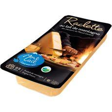 MON LAIT Fromage à raclette au lait de montagne 2/3 personnes 400g