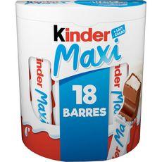 Kinder KINDER Maxi barres de chocolat