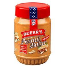 DUERR'S Beurre de cacahuètes avec morceaux  340g