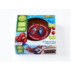 LIGHTBODY Gâteau au chocolat décor Spiderman 24 parts 678g