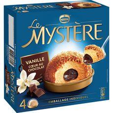 MYSTERE Mystère vanille coeur au chocot x4 -308g