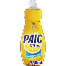 PAIC Liquide vaisselle super dégraissant citron 750ml