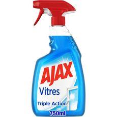 AJAX Spray nettoyant triple action vitres et surfaces laminées 750ml