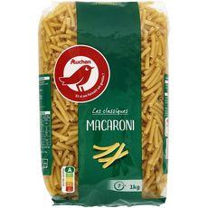 AUCHAN Macaroni 1kg