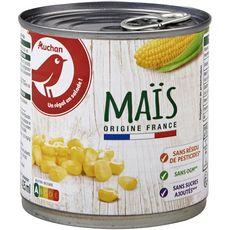 AUCHAN Maïs sans résidu de pesticide 285g