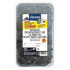 Moules de Bouchot Mont Saint Michel 2l 3 personnes 1.4kg