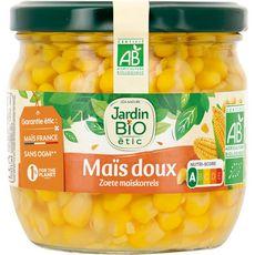 JARDIN BIO ETIC Maïs doux croquant, en bocal 330g