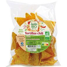 JARDIN BIO ETIC Tortillas chili sans gluten 125g