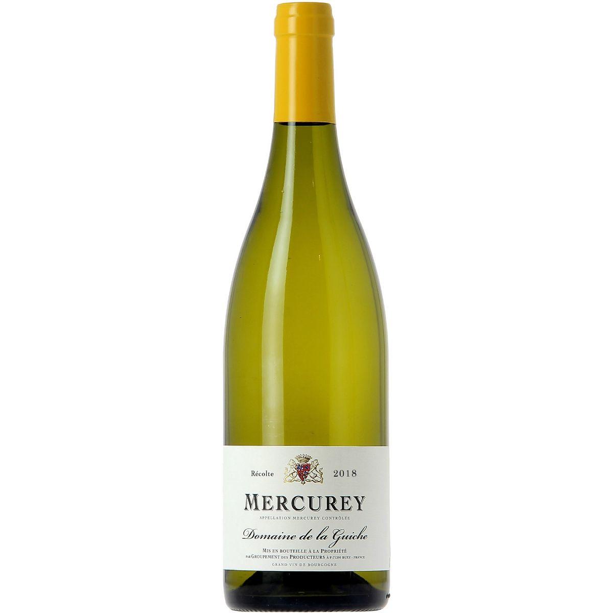 AOP Mercurey Domaine de la Guiche blanc blanc 2018