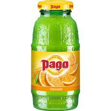 PAGO Boisson à base de jus concentré d'orange 20cl