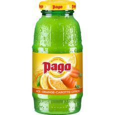 PAGO Boisson aux fruits ace orange carotte et citron 20cl