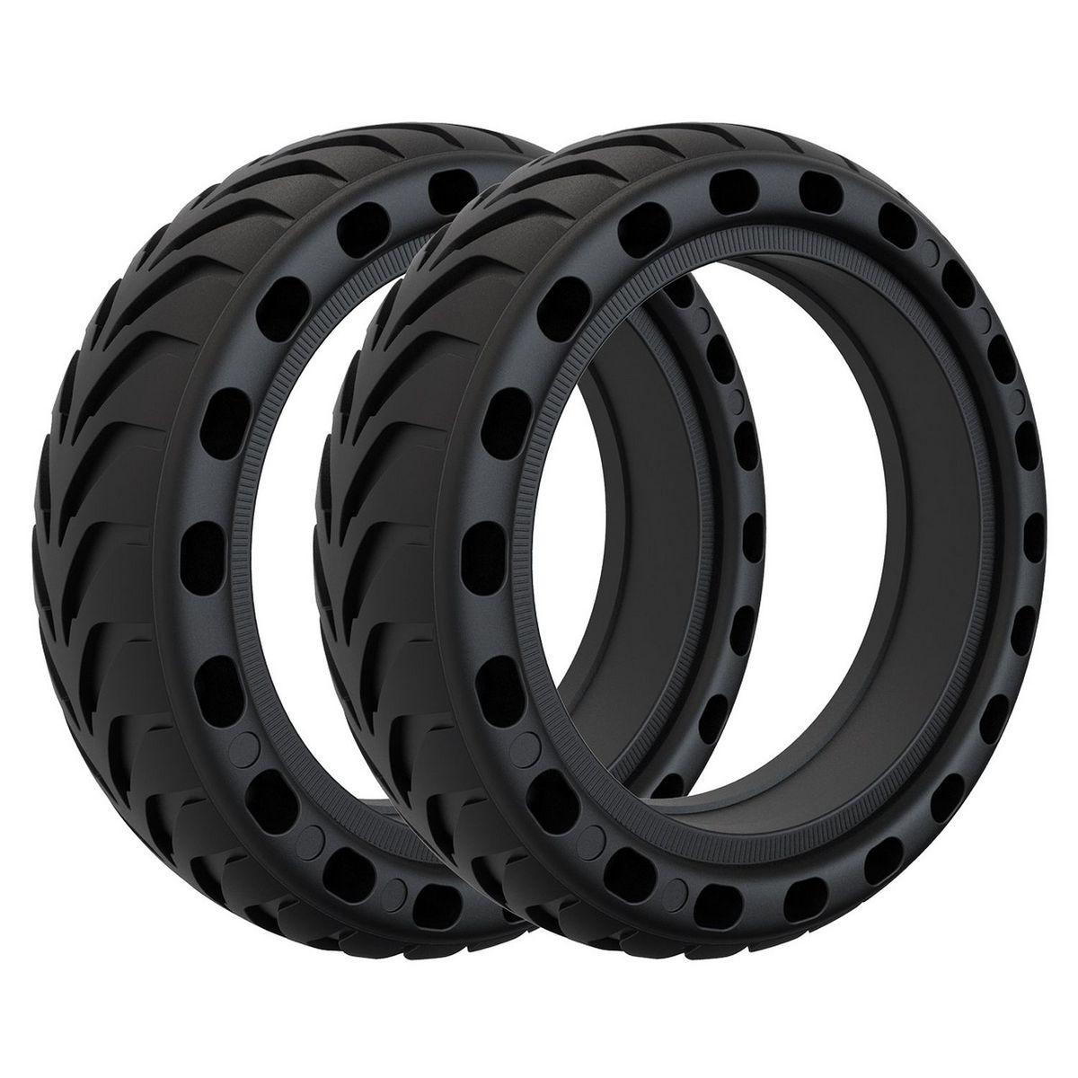Pack de 2 pneus anti-crevaison pour trottinettes électriques Xiaomi