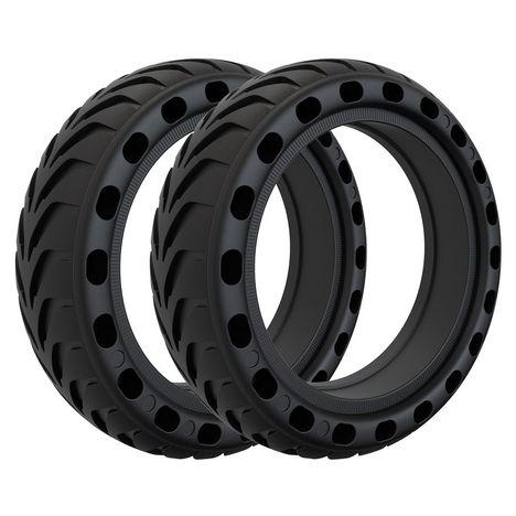 XIAOMI Pack de 2 pneus anti-crevaison pour trottinettes électriques Xiaomi