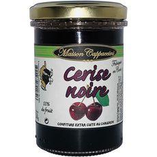MAISON CAPPACCINI Confiture de cerise noire 55% de fruit 240g