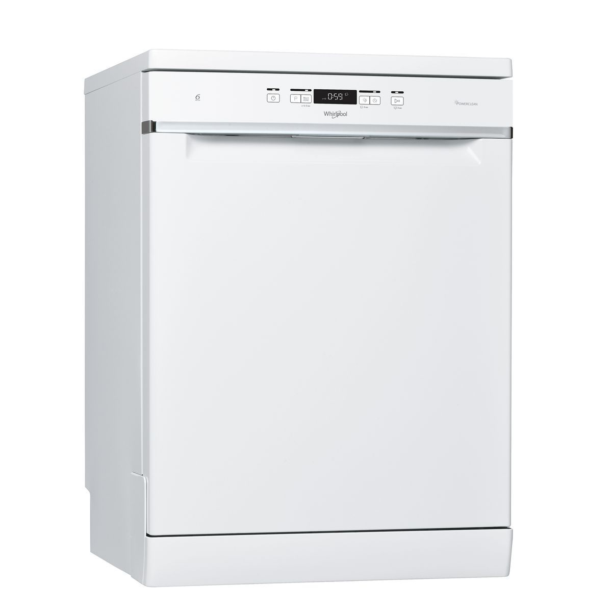 Lave vaisselle pose libre WFC3C33PF, 14 couverts, 60 cm, 42 dB, 8 programmes