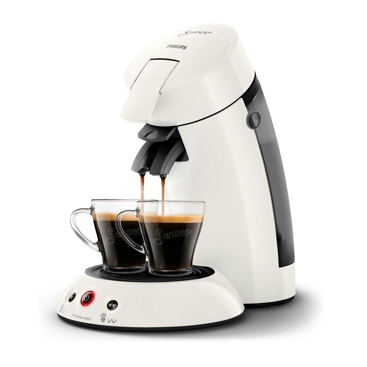 Cafetière à dosette Senseo HD6554/12 - Blanc