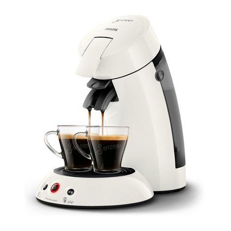 PHILIPS Cafetière à dosette Senseo HD6554/12 - Blanc
