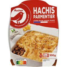 AUCHAN Hachis parmentier 1 portion 300g