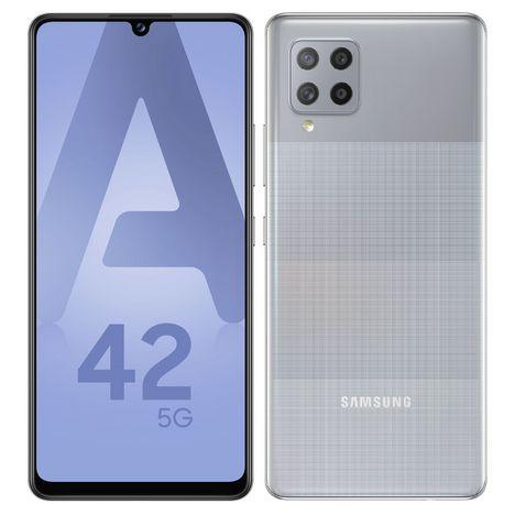 SAMSUNG Smartphone Galaxy A42 5G 128 Go  6.6 pouces Gris Double Sim