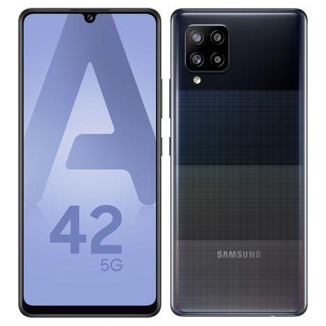 SAMSUNG Smartphone Galaxy A42 5G 128 Go  6.6 pouces Noir Double Sim