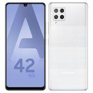 SAMSUNG Smartphone Galaxy A42 5G 128 Go  6.6 pouces Blanc Double Sim