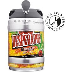 DESPERADOS Bière original aromatisée tequila fût pression 5,9% 5l