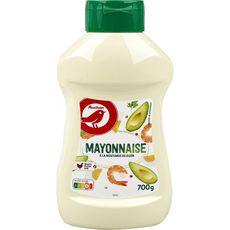 AUCHAN Mayonnaise en squeeze top down 700g