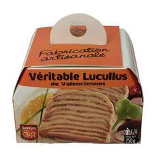 Lucullus véritable de Valenciennes 4 à 6 portions 250g