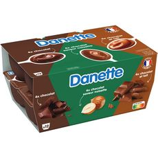 Danone DANETTE DANETTE Crème dessert aux 3 chocolats 12x125g