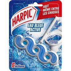 HARPIC Bloc WC fraîcheur intense eau bleue 1 bloc
