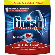 Finish FINISH Powerball tablettes lave-vaisselle film hydrosoluble