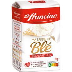 FRANCINE Farine de blé tous usages T45 1kg