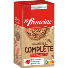 FRANCINE Farine de blé complète 1kg