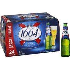 1664 Bière blonde 5,5% bouteilles 24x25cl