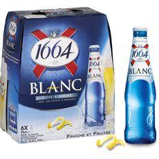 1664 Bière blanche 5% bouteilles 6x25cl