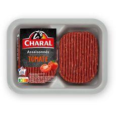 CHARAL Haché à la tomate 2 pièces 2x125g