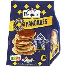 PASQUIER Pancakes natures 10 pièces 350g